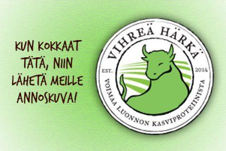 Perinteinen pannari feat. härkäpapujauho